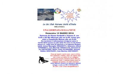 Con lo sci club di Vairano Patenora, una giornata sulla neve all'insegna del divertimento e del sano stare insieme
