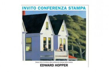 INVITO CONFERENZA STAMPA > Edward Hopper > giovedì 24 marzo, ore 11.00 > Palazzo Fava-Palazzo delle Esposizioni, Bologna