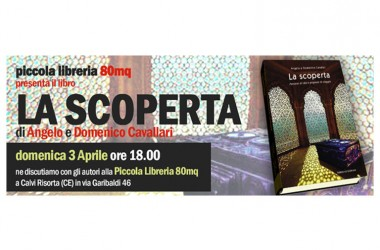 Alla Piccola Libreria 80mq presentazione del libro La scoperta di Angelo e Domenico Cavallari