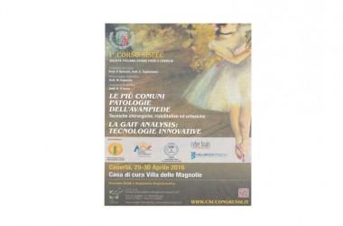 Castel Morrone (Ce) – Corso sulle più comuni patologie dell'avampiede