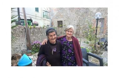 I nonni del Cilento testimonial del workshop neurologi e dieta mediterranea a Pollica