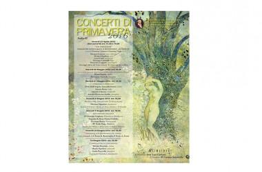 I concerti di Primavera dal 22 Aprile al 16 Giugno al conservatorio di Avellino