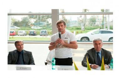 Marcianise (Ce) – Inaugurazione della struttura del nuovo impianto sportivo polifunzionale realizzato dal gruppo Oro_no
