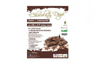 """Martedì 12 aprile presentazione dell'evento """"CHOCOLATE DAYS"""""""