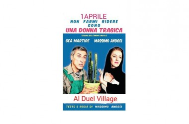 Gea Martire e Massimo Andrei al Duel Village