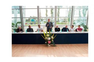 A Caserta sud il Presidente Malagò inaugura la nuova palestra di Clemente Russo