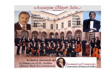 Concerto dell'orchestra giovanile del Cimarosa ad Avellino, ospite d'onore il maestro Marcello Abbado