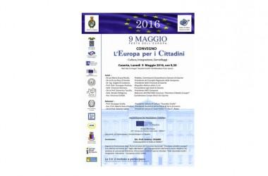 Festa dell'Europa, lunedì un convegno al Belvedere di San Leucio