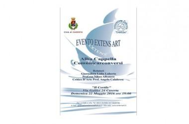 Evento Extens-Art: Presentazione Comunicarconversi di Alba Cappella