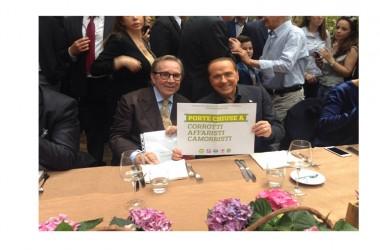 """Berlusconi a Caserta a sostegno di Ventre: """"è il sindaco migliore per Caserta. Vinceremo grazie alla sua autorevolezza e alle sue capacità amministrative"""""""