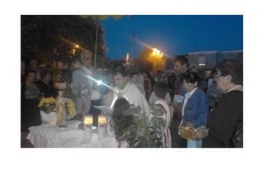 Cancello ed  Arnone – Festa del Corpus Domini nella parrocchia Maria SS. Assunta in cielo.
