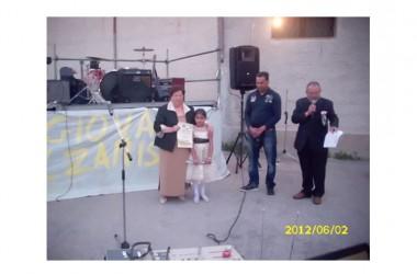 """UN BELLISSIMO RICORDO: Grazzanise – evento del 2 Giugno 2012 """"Intervento di Matilde Maisto"""""""