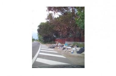 Parete: LA TERRA DEI FUOCHI e  i  suoi  rifiuti…