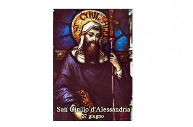 Il SANTO del giorno 27 Giugno –  San Cirillo d'Alessandria
