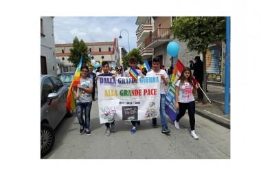 """Grazzanise – Passaggio della  """"Fiaccola della Pace"""""""