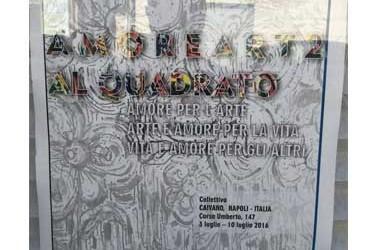 """Al castello medioevale di Caivano la rassegna pittorica """"Amore art 2 al quadrato"""" con più di 50 artisti"""