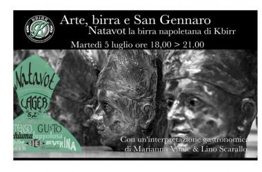 Arte, alta cucina e San Gennaro per dare il benvenuto a Natavot di KBirr