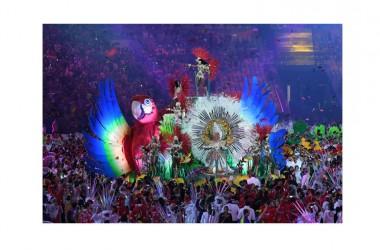 Cerimonia conclusiva delle Olimpiadi a Rio de Janeiro