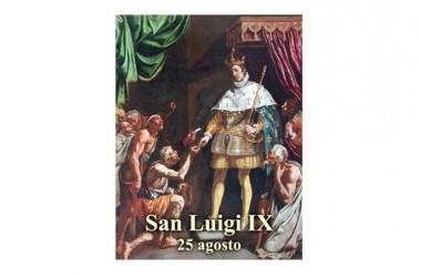Il SANTO del giorno 25 Agosto –  San Luigi IX – Re di Francia