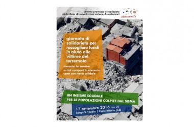Il 17 settembre le associazioni calene in campo a sostegno delle popolazioni colpite dal sisma