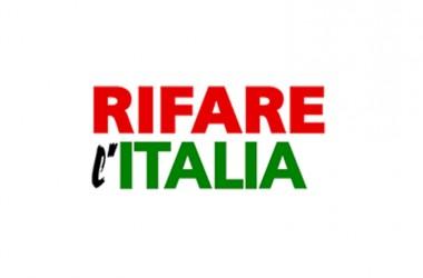 Vicenda ASI, Rifare l'Italia: via i rappresentanti del Pd e azzerare gli organismi di governo