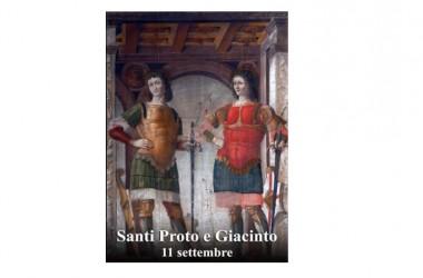 IL SANTO di Oggi 11 Settembre –  Santi Proto e Giacinto