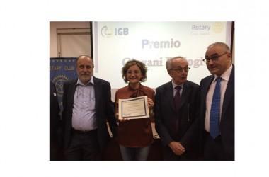 """Premio """"Giovani Biologi"""" alla ricercatrice Carmen Valente  Il Rotary Club Napoli supporta la ricerca evitando la fuga di cervelli"""