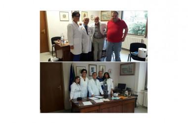 Associazione Angela Serra, sezione Caserta e Benevento, dona fondi ad Amatrice e la possibilità di avere una psicologa nel reparto di oncologia a Piedimonte Matese