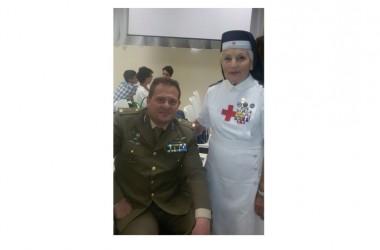 Gianfranco Paglia ha incontrato dopo 23 anni la crocerossina Vittoria Prono, che l'ha assistito dopo il ferimento a Mogadiscio.