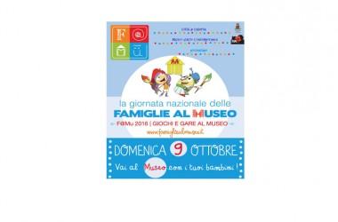 Giornata Nazionale delle famiglie al Museo – FAMU2016