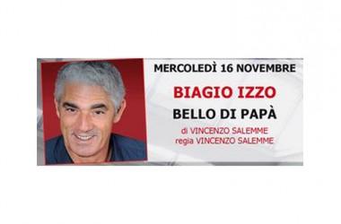 """Parte con Biagio Izzo e Vincenzo Salemme la nuova edizione della stagione teatrale dell'auditorium """"Monsignor Tommasiello"""""""