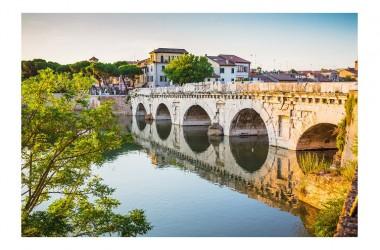 Buon Lunedì con: PONTE DI AUGUSTO E TIBERIO – RIMINI \ Emilia-Romagna