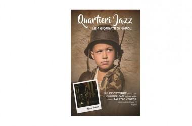 Quartieri Jazz in concerto sabato 22 Ottobre ore 21,30 presso Palazzo Venezia
