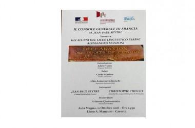 Martedì inaugurazione del liceo linguistico esabac con la visita del Console Seytre