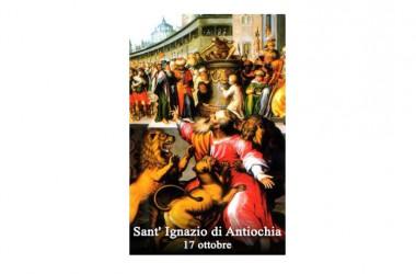 IL SANTO di oggi 17 Ottobre –  Sant' Ignazio di Antiochia