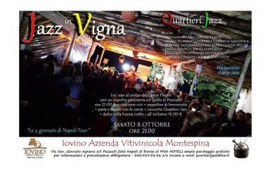 """""""Jazz in vigna"""" – """"Le 4 giornate di Napoli tour"""""""