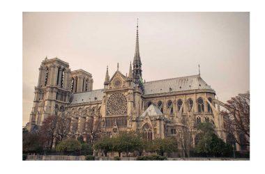 Buon Mercoledì con: la Cattedrale di Notre-Dame, Parigi, Francia