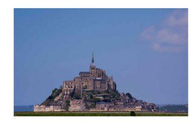 Buona domenica con: il Santuario di Mont Saint-Michel, Normandia, Francia
