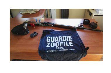 Antibracconaggio operazione congiunta carabinieri e guardie zoofile E.N.P.A.