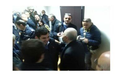 Primarie, Giuseppe Razzano incassa l'in bocca al lupo del governatore De Luca