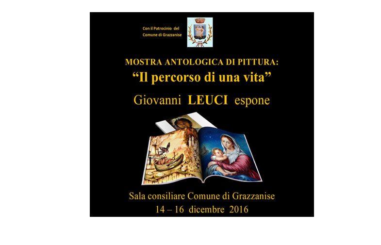 """Grazzanise – Mostra Antologica di Pittura: """"Il percorso di una vita"""""""