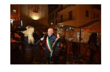 """""""Creazione Christmas Market"""", al via a Caiazzo i mercatini di Natale"""