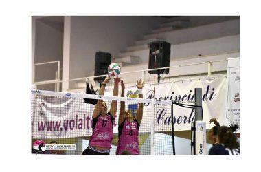Festa rosanero. La Volalto batte Cisterna in tre set, conquista la sua seconda vittoria consecutiva