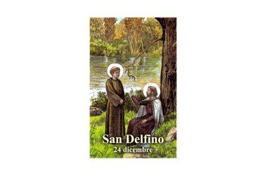 IL SANTO di oggi 24 Dicembre –  San Delfino di Bordeaux