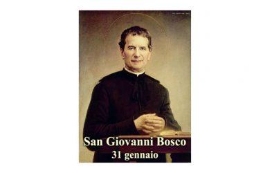 IL SANTO di oggi 31 Gennaio –  San Giovanni Bosco