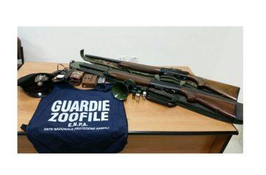 """Epifania tra """"Richiami e vasche"""" operazione antibracconaggio congiunta carabinieri e guardie zoofile E.N.P.A."""