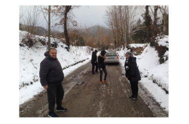 Alife, risveglio col ghiaccio: si sta provvedendo a sgomberare le strade