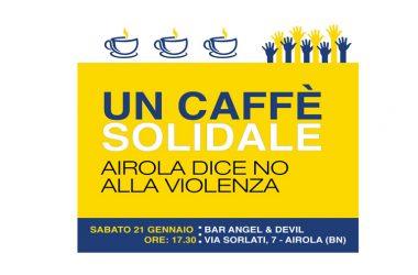 """La soddisfazione degli organizzatori:  """"Un caffè solidale"""", in centinaia per sostenere il bar colpito da un attentato"""
