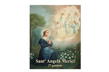 IL SANTO di oggi 27 Gennaio – Sant' Angela Merici