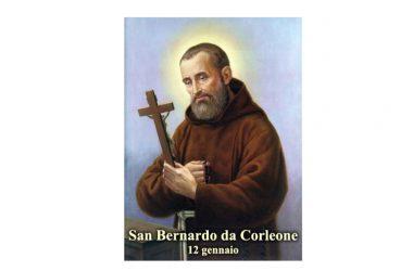 IL SANTO di oggi 12 Gennaio – San Bernardo da Corleone